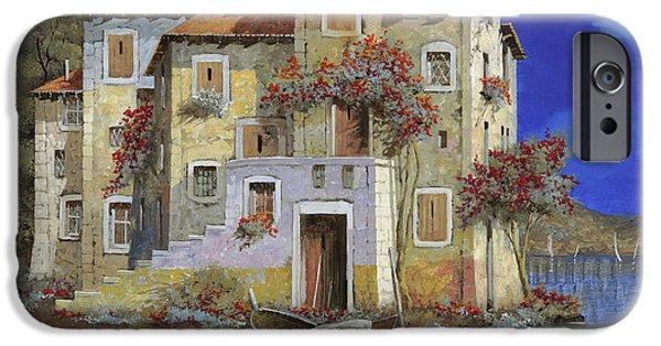 Village iPhone 6 Case - Mareblu' by Guido Borelli