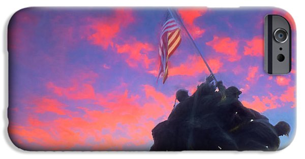 Marines At Dawn IPhone 6 Case by JC Findley