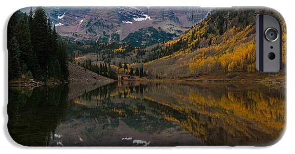 Maroon Bells IPhone 6 Case by Gary Lengyel