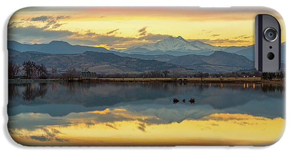 IPhone 6 Case featuring the photograph Marvelous Mccall Lake Reflections by James BO Insogna
