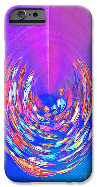 IPhone 6 Case featuring the photograph Meditation In Blue by Nareeta Martin