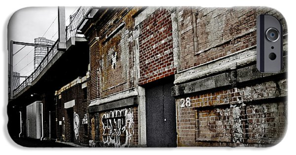 Alley iPhone Cases - Melbourne Alley iPhone Case by Kelly Jade King