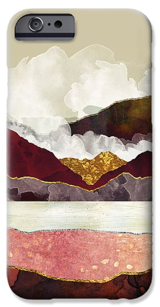 Landscapes iPhone 6 Case - Melon Mountains by Katherine Smit