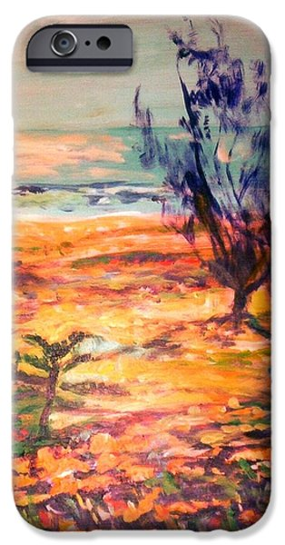 IPhone 6 Case featuring the painting Memory Pandanus by Winsome Gunning
