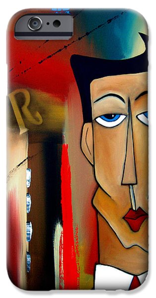 Figurative iPhone 6 Case - Merger - Abstract Art By Fidostudio by Tom Fedro - Fidostudio
