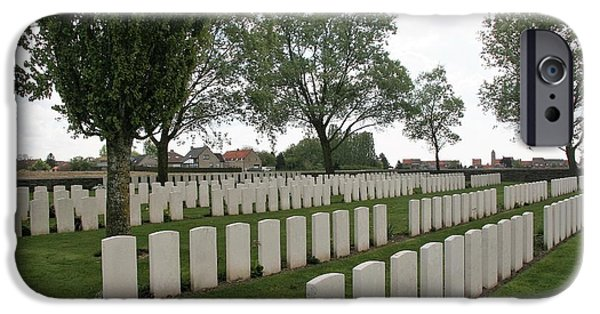 IPhone 6 Case featuring the photograph Messines Ridge British Cemetery by Travel Pics