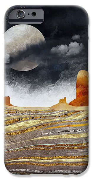 Landscapes iPhone 6 Case - Metallic Desert by Spacefrog Designs