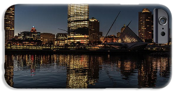 IPhone 6 Case featuring the photograph Milwaukee Reflections by Randy Scherkenbach