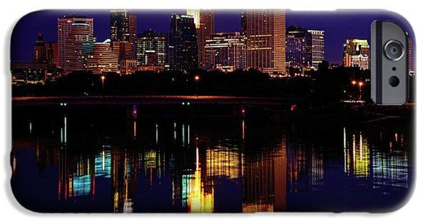 Minnesota iPhone Cases - Minneapolis Twilight iPhone Case by Rick Berk