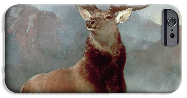 iPhone 6 Case - Monarch Of The Glen by Sir Edwin Landseer