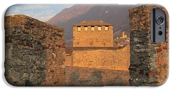 Montebello - Bellinzona, Switzerland IPhone 6 Case by Travel Pics