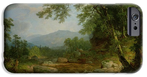 1796 iPhone Cases - Monument Mountain - Berkshires iPhone Case by Asher Brown Durand
