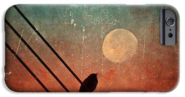 Tara Turner iPhone Cases - Moon Talk iPhone Case by Tara Turner