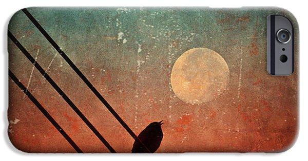 Moon iPhone Cases - Moon Talk iPhone Case by Tara Turner