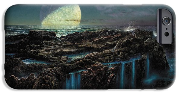 Moonrise 4 Billion Bce iPhone Case by Don Dixon