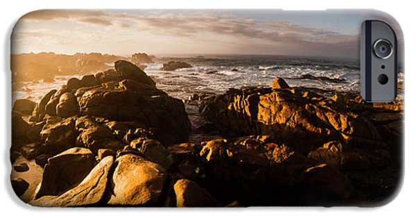 IPhone 6 Case featuring the photograph Morning Ocean Panorama by Jorgo Photography - Wall Art Gallery