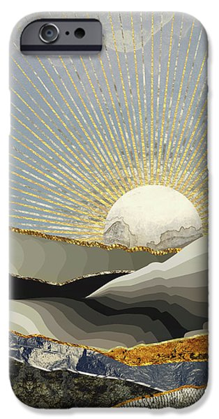Landscapes iPhone 6 Case - Morning Sun by Katherine Smit