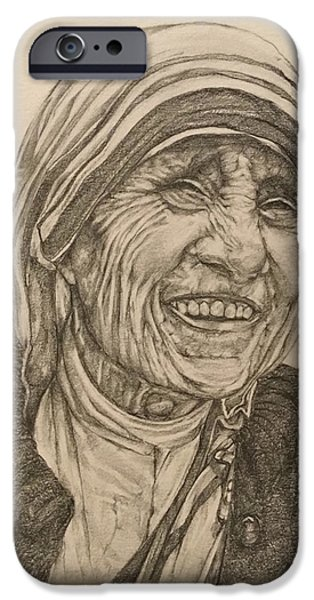 Mother Theresa Kindness IPhone 6 Case by Kent Chua