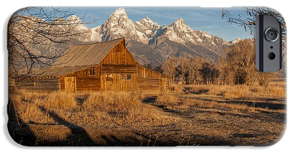 IPhone 6 Case featuring the photograph Moulton Barn by Gary Lengyel