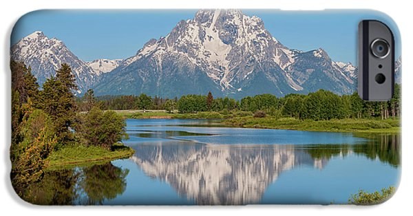 Mount Moran On Snake River Landscape IPhone 6 Case