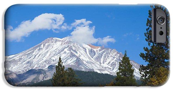 Mount Shasta California IPhone 6 Case