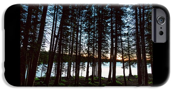 IPhone 6 Case featuring the photograph Mountain Forest Lake by James BO Insogna