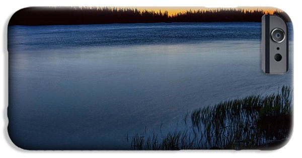 IPhone 6 Case featuring the photograph Mountain Lake Glow by James BO Insogna