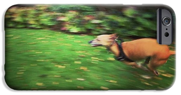 iPhone 6 Case - Mr Finly Enjoying A Few Rapid Laps Of by John Edwards