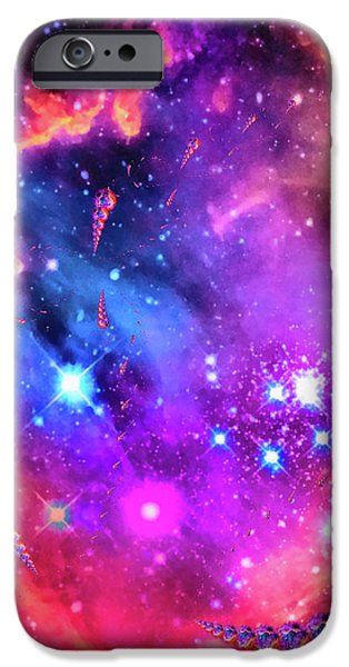 Multi Colored Space Chaos IPhone 6 Case