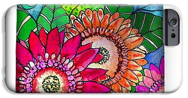 iPhone 6 Case - My Newest #canvastotebag  Morning by Robin Mead