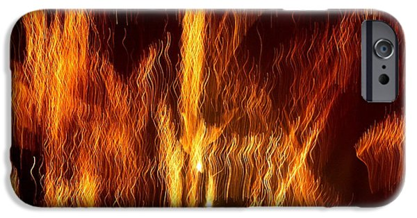 Fireworks iPhone Cases - My Personal Matrix iPhone Case by David Dunham