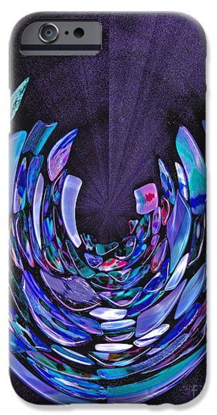 IPhone 6 Case featuring the photograph Mystery In Blue And Purple by Nareeta Martin