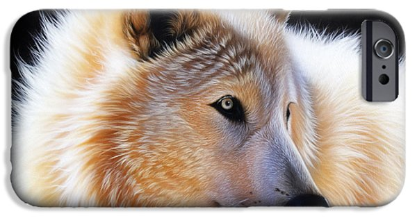 Airbrush iPhone Cases - Nala iPhone Case by Sandi Baker