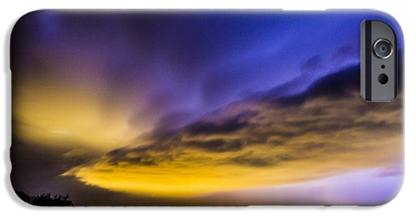 Nebraskasc iPhone 6 Case - Nebraska Night Beast 021 by NebraskaSC