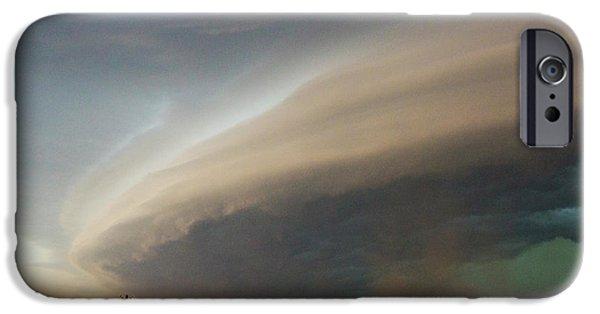 Nebraskasc iPhone 6 Case - Nebraska Thunderstorm Eye Candy 026 by NebraskaSC