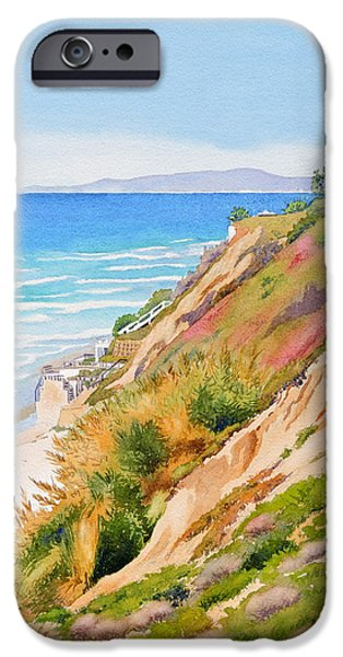 Pacific Ocean iPhone 6 Case - Neptune's View Leucadia California by Mary Helmreich