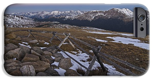 IPhone 6 Case featuring the photograph Never Summer Range by Gary Lengyel