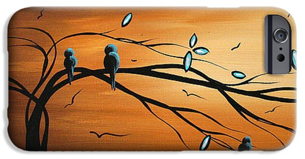 Rust iPhone Cases - New Bloom by MADART iPhone Case by Megan Duncanson