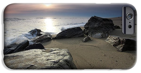 Ocean Art Photography iPhone Cases - New Day iPhone Case by Dapixara Art