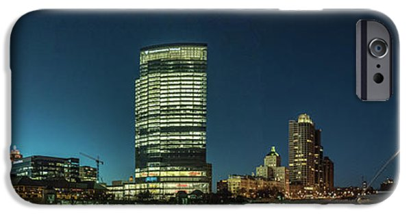 IPhone 6 Case featuring the photograph New Milwaukee Skyline by Randy Scherkenbach