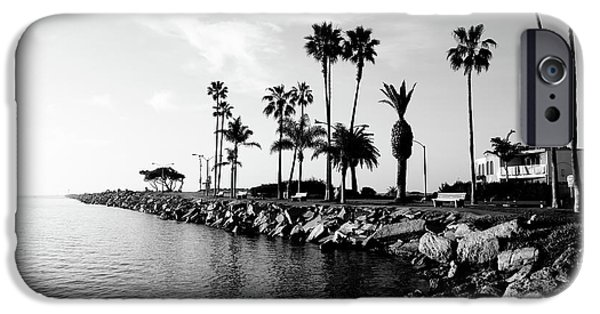 People iPhone Cases - Newport Beach Jetty iPhone Case by Paul Velgos