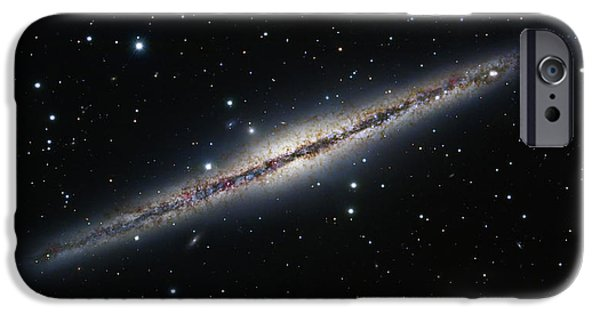 Stellar iPhone Cases - Ngc 891, An Edge-on Spiral Galaxy iPhone Case by Robert Gendler