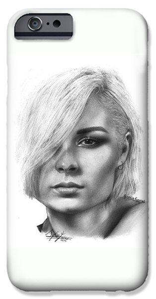 Nina Nesbitt Drawing By Sofia Furniel IPhone 6 Case
