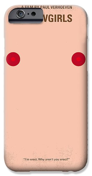 Ambition iPhone Cases - No076 My showgirls minimal movie poster iPhone Case by Chungkong Art