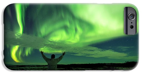 Northern Light In Western Iceland IPhone 6 Case