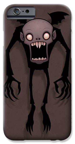 Bat iPhone 6 Case - Nosferatu by John Schwegel