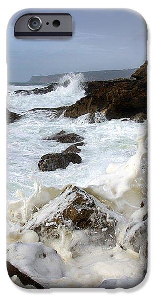 Ocean Foam iPhone Case by Carlos Caetano