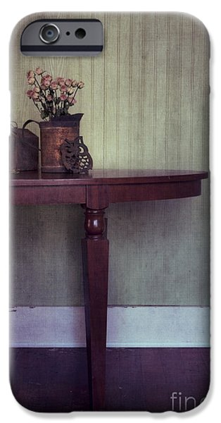Furniture Photographs iPhone Cases - Old And Rusty iPhone Case by Priska Wettstein