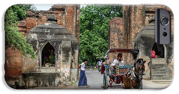 Old Bagan IPhone 6 Case by Werner Padarin