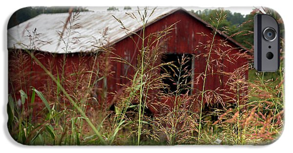 Best Sellers -  - Cabin Window iPhone Cases - Old barn XII iPhone Case by Emanuel Tanjala